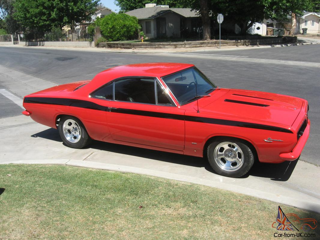 1967 Plymouth Barracuda Notchback Coupe  Restored in 2009   Fresh  Everything!!!