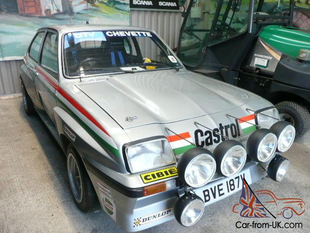 vauxhall chevette hsr 2 6 twin cam ex works jimmy mcrae rally car vauxhall chevette hsr 2 6 twin cam ex