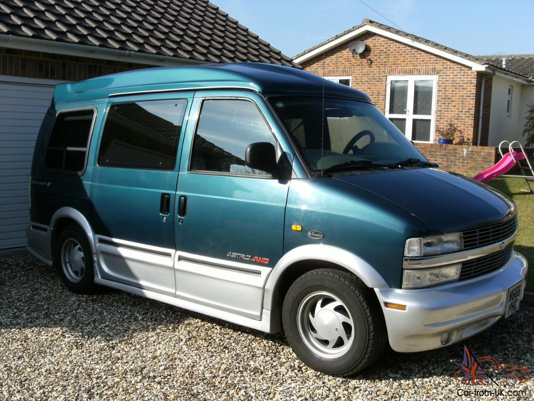 Chevrolet Astro GMC Safari Dayvan