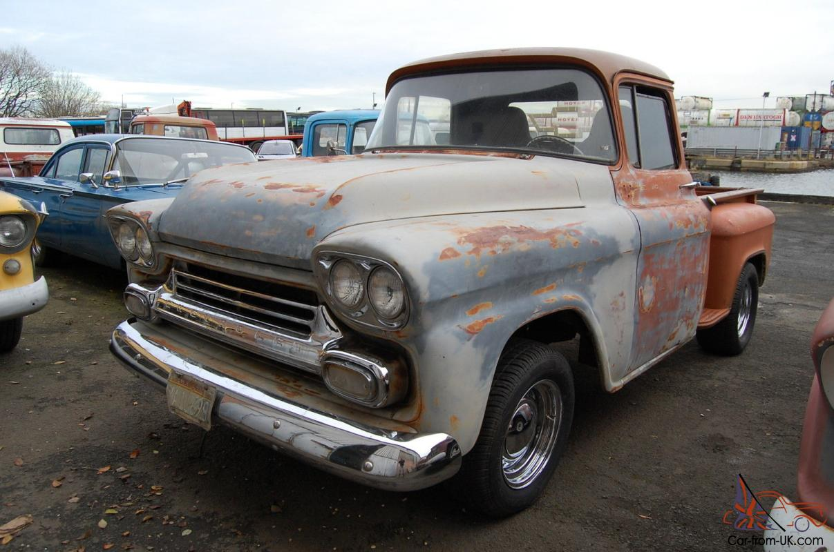 1959 Chevrolet Apache 31 Stepside Pickup Free Uk Delivery 235 Chevy Wiring Hot