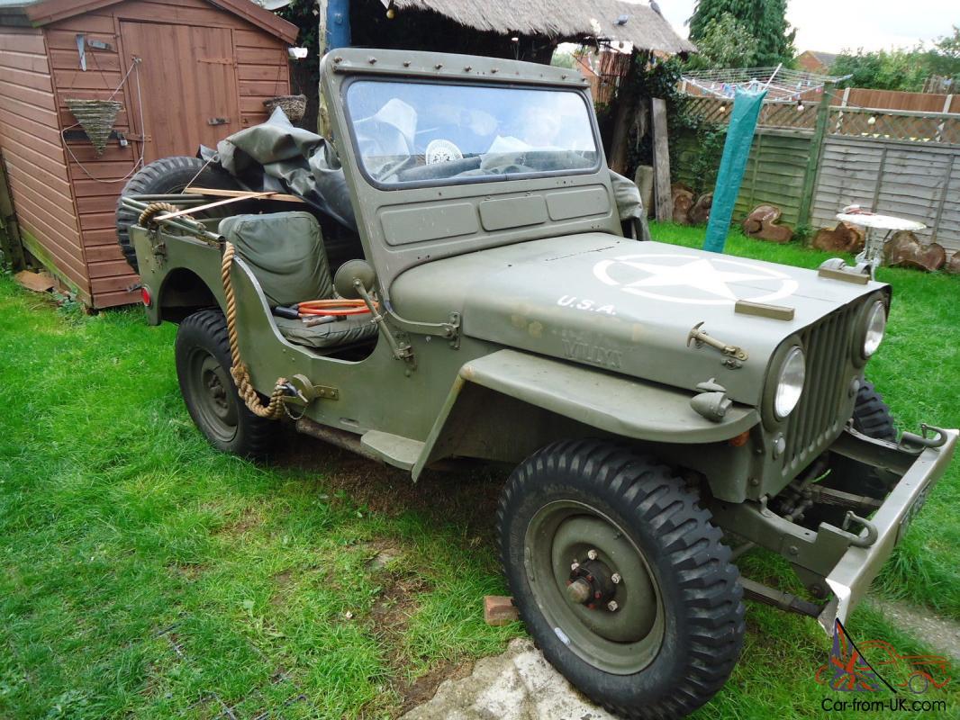 Willys Jeep Ex Swiss Army 1949