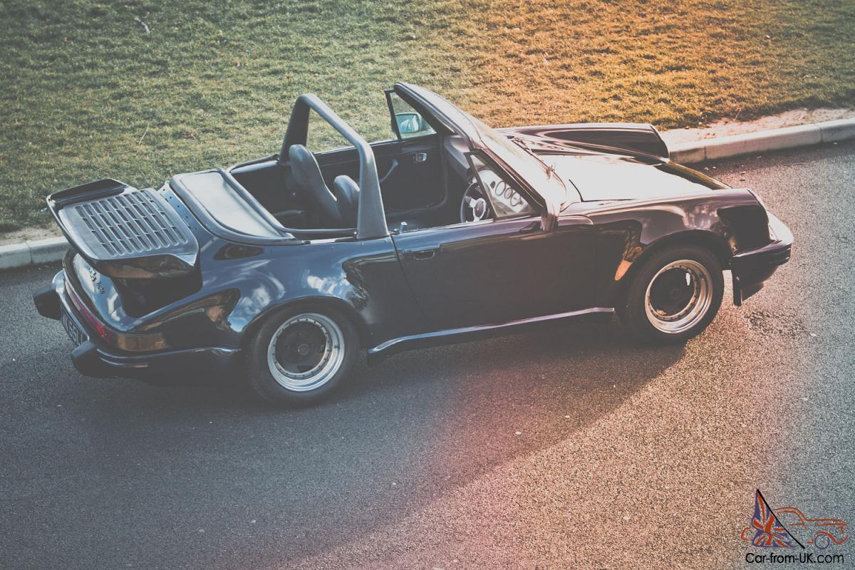 Breathtaking Open Topped Vintage Porsche 911 Supersport Kit Car