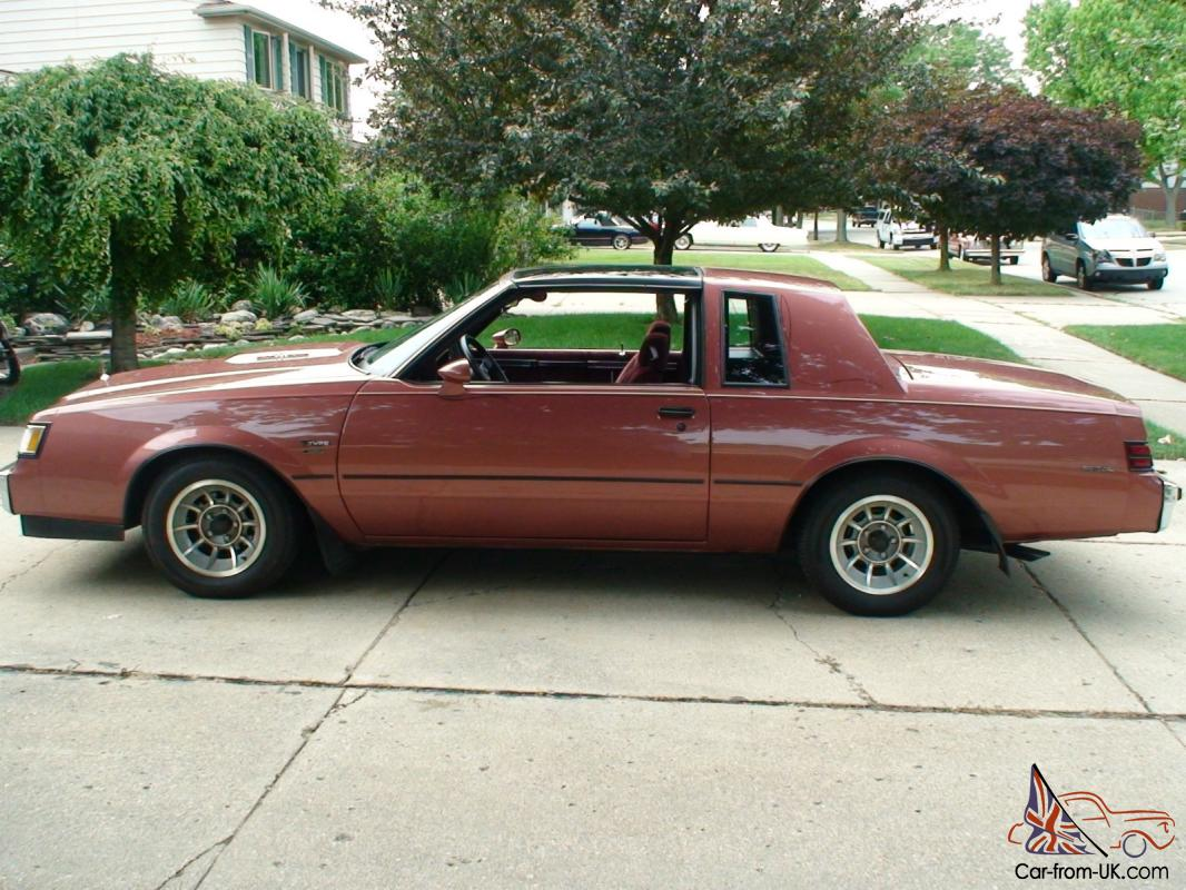 Buick Regal T Type >> 1986 Buick Regal T Type Coupe 2 Door 3 8l