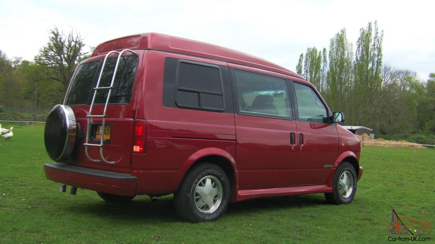 LPG Chevrolet Astro GMC Safari Dayvan Auto Camper American Chevy CONSIDER  OFFERS