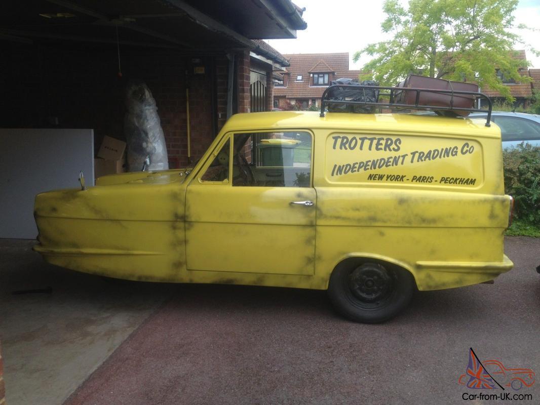 Reliant Del Boy Van Exact Replica