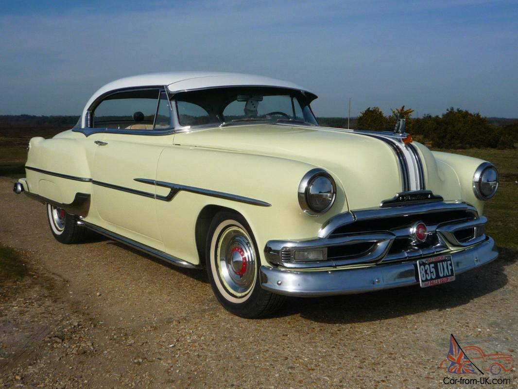 1953 Pontiac Custom Catalina Hardtop Straight 8 Auto Chieftain
