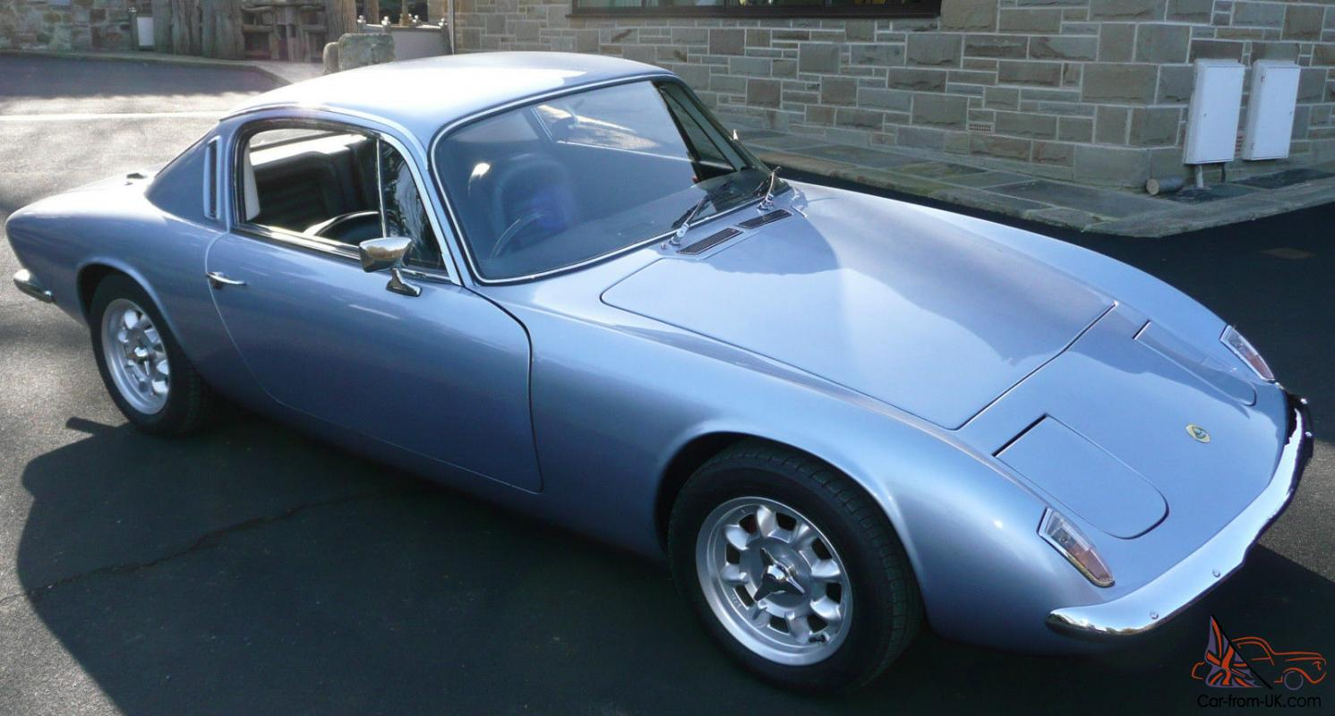 Lotus Elan Plus 2 Blue Grey