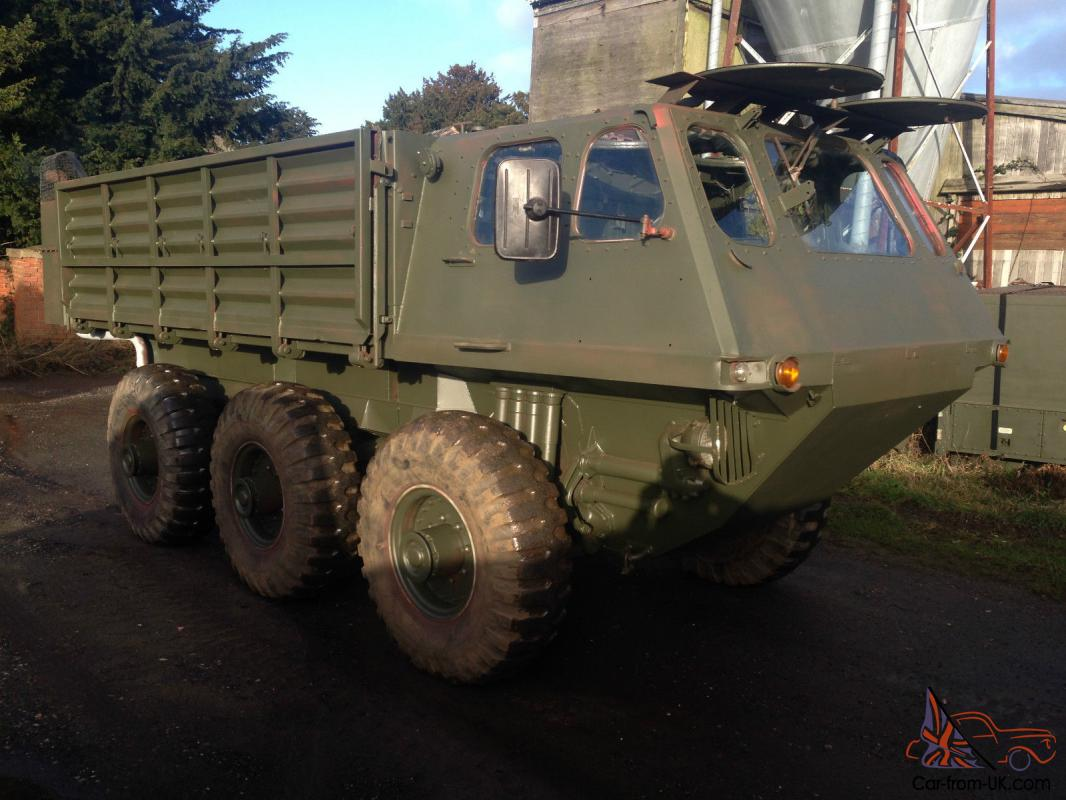 Alvis Stalwart 6 x 6 Amphibious Stolly Off Road Military MOD Army NATO  Scammell