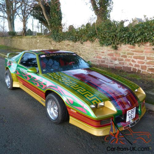 Chevrolet Camaro Iroc Z28 American Customised Show car modifications  PX  cons