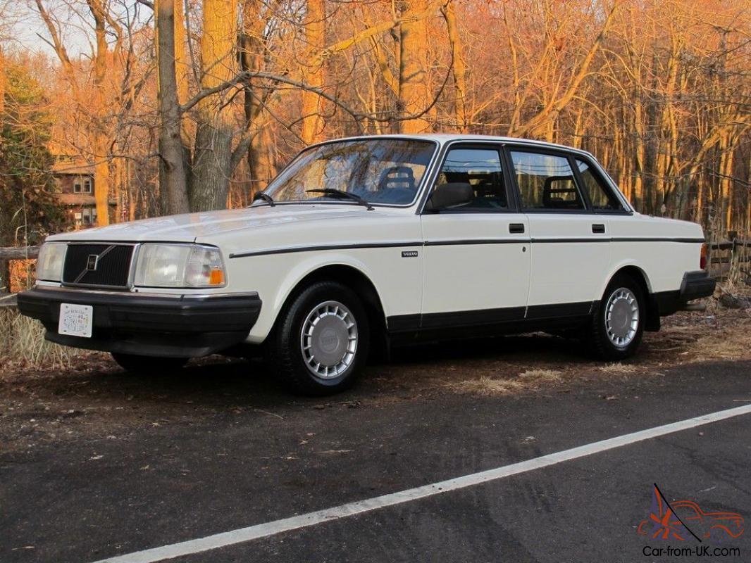 1989 Volvo 240 Dl 44 582 Original Miles