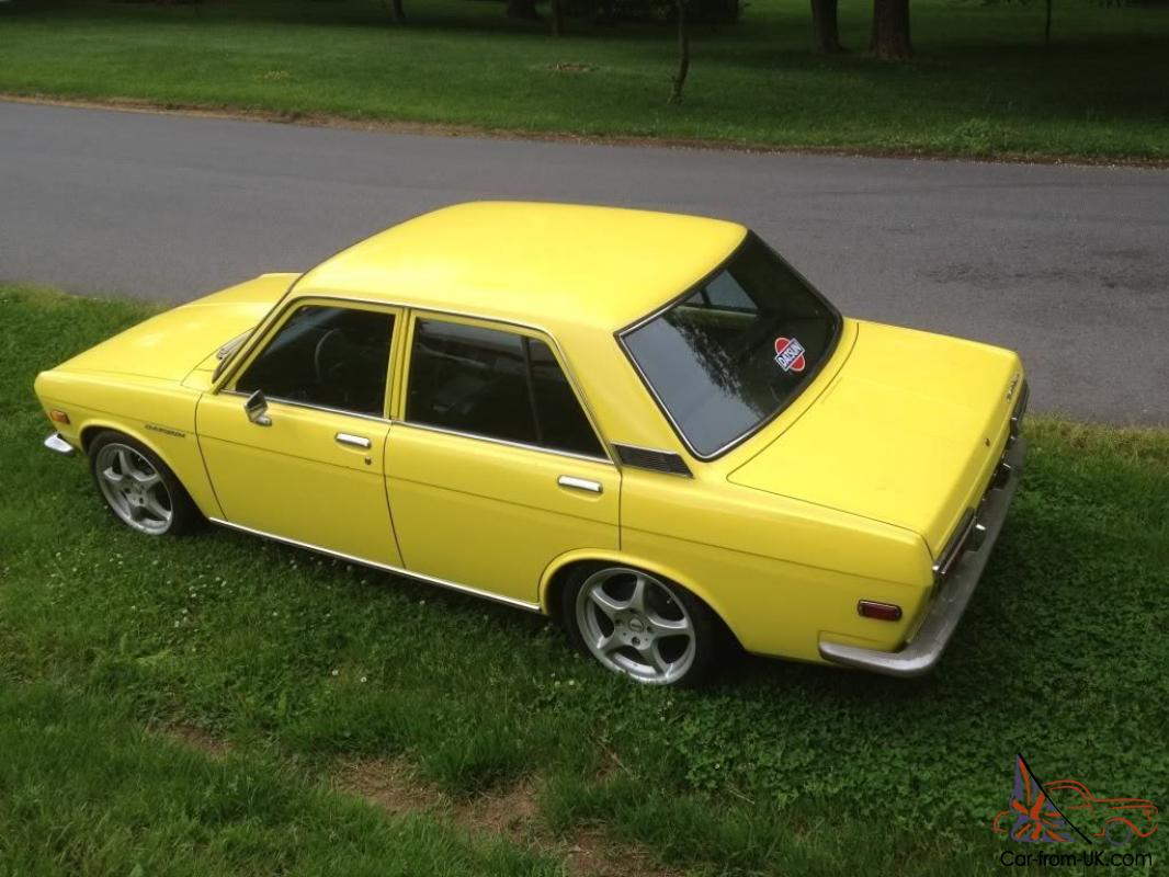 1972 Datsun 510 4 Door - Straight, Solid and Clean Cali Car on the East  Coast