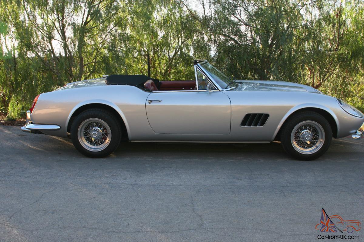 1961 Ferrari 250 Gt Cailifornia Modena Replica For Sale