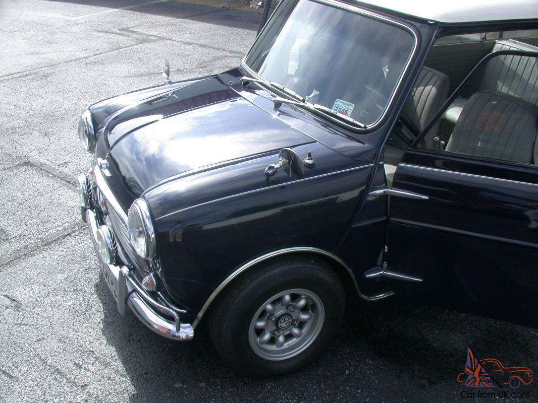 Classic Morris Mini Cooper S Traveller Estate Wagon 1962