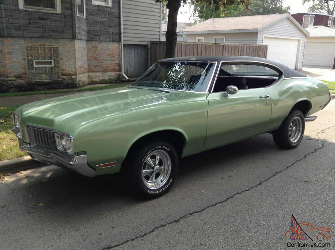 RARE  1970 Cutlass S Rocket 350 MINT! Fastback Coupe  All American Muscle  Car!