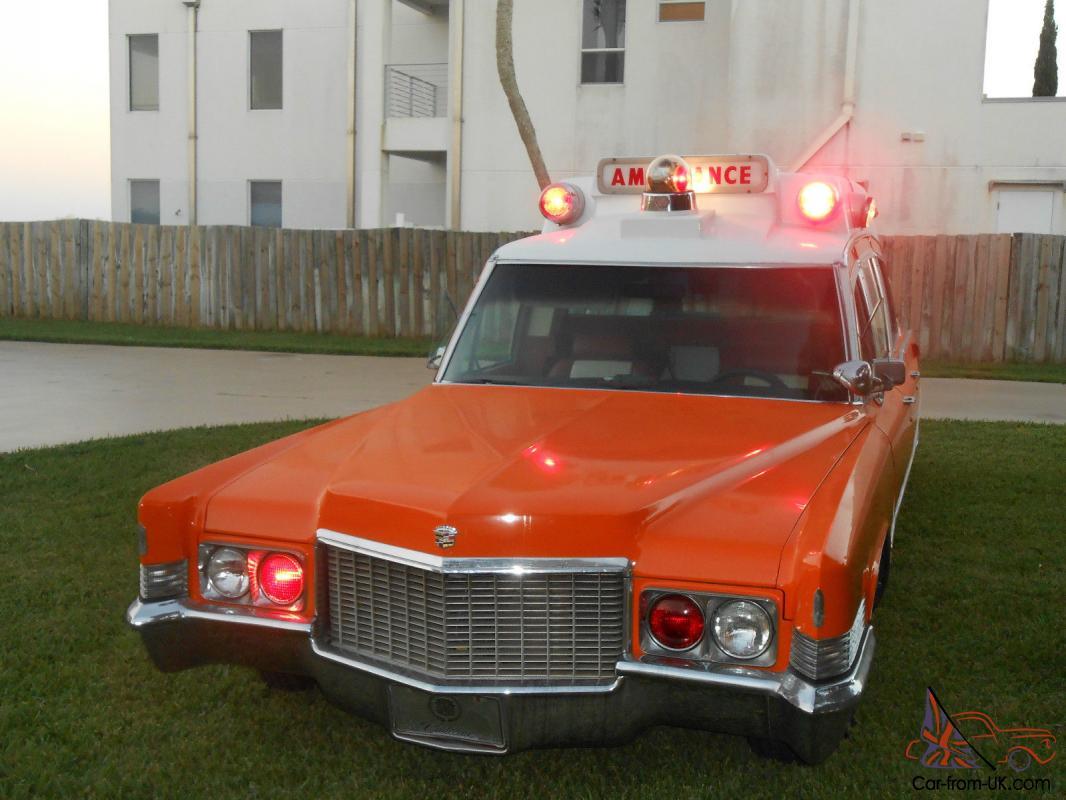 1970 cadillac ambulance hearse limo fleetwood royal