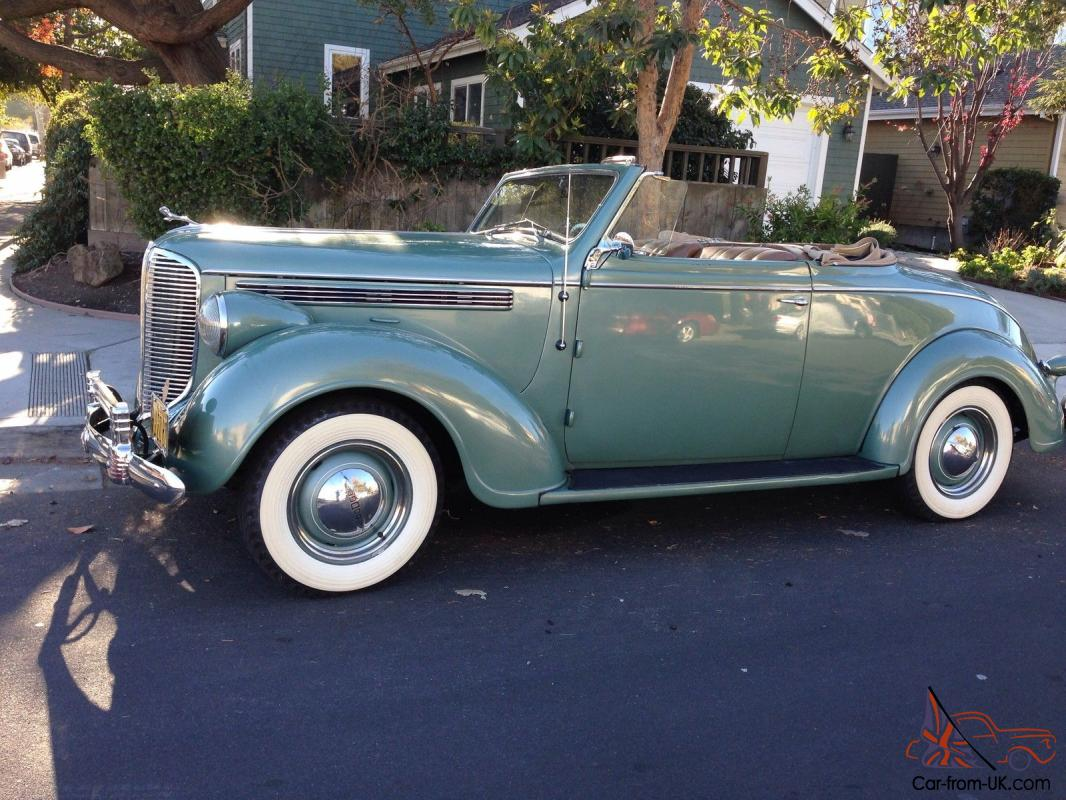Dodge Canada Build And Price >> 1938 Dodge Rumble Seat Convertible Coupe