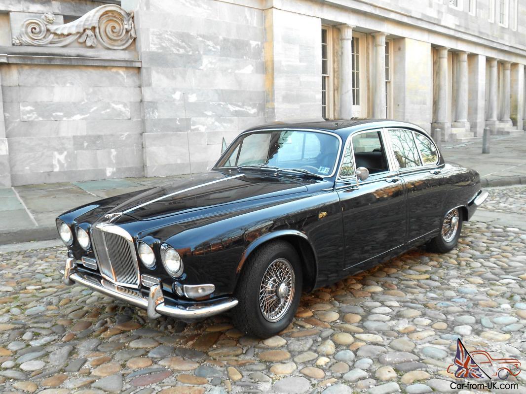 Exceptional Rare 1967 Jaguar 420 Sport Sedan