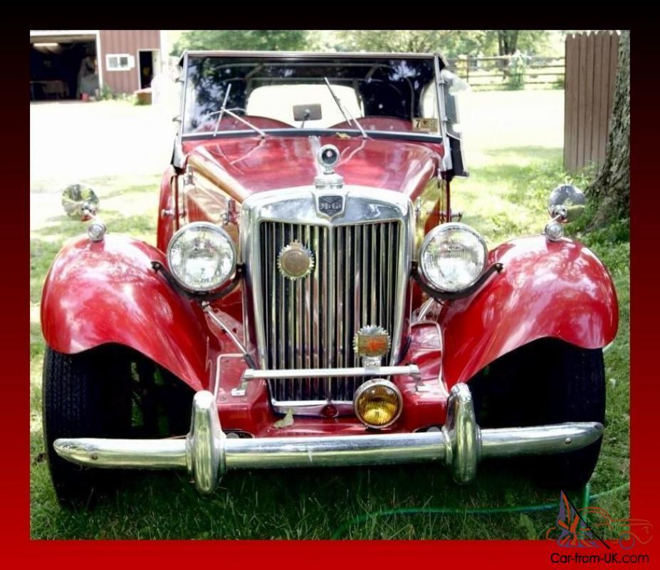 1952 MG REPLICA KIT CAR