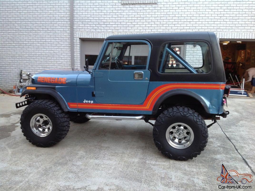 Jeep Cj7 Renegade For Sale Uk