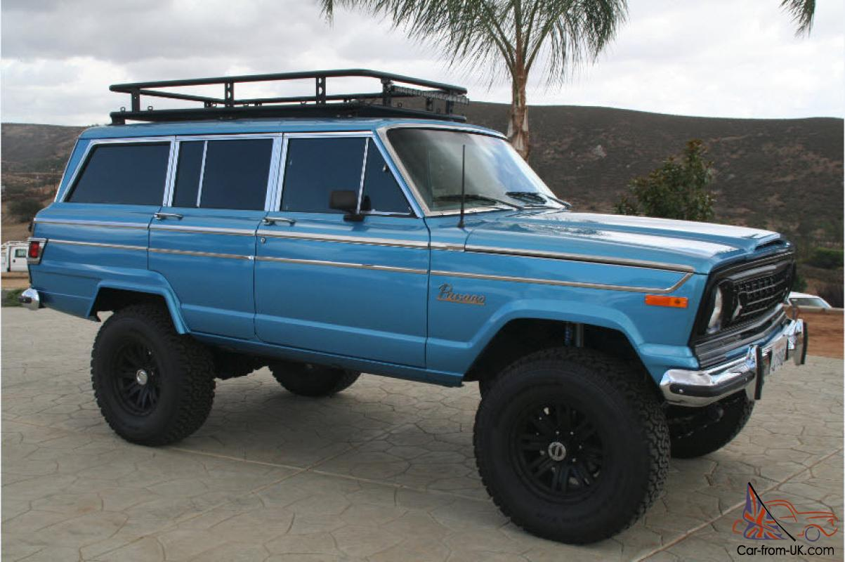 Jeep Wagoneer For Sale >> Jeep Wagoneer Custom 4x4