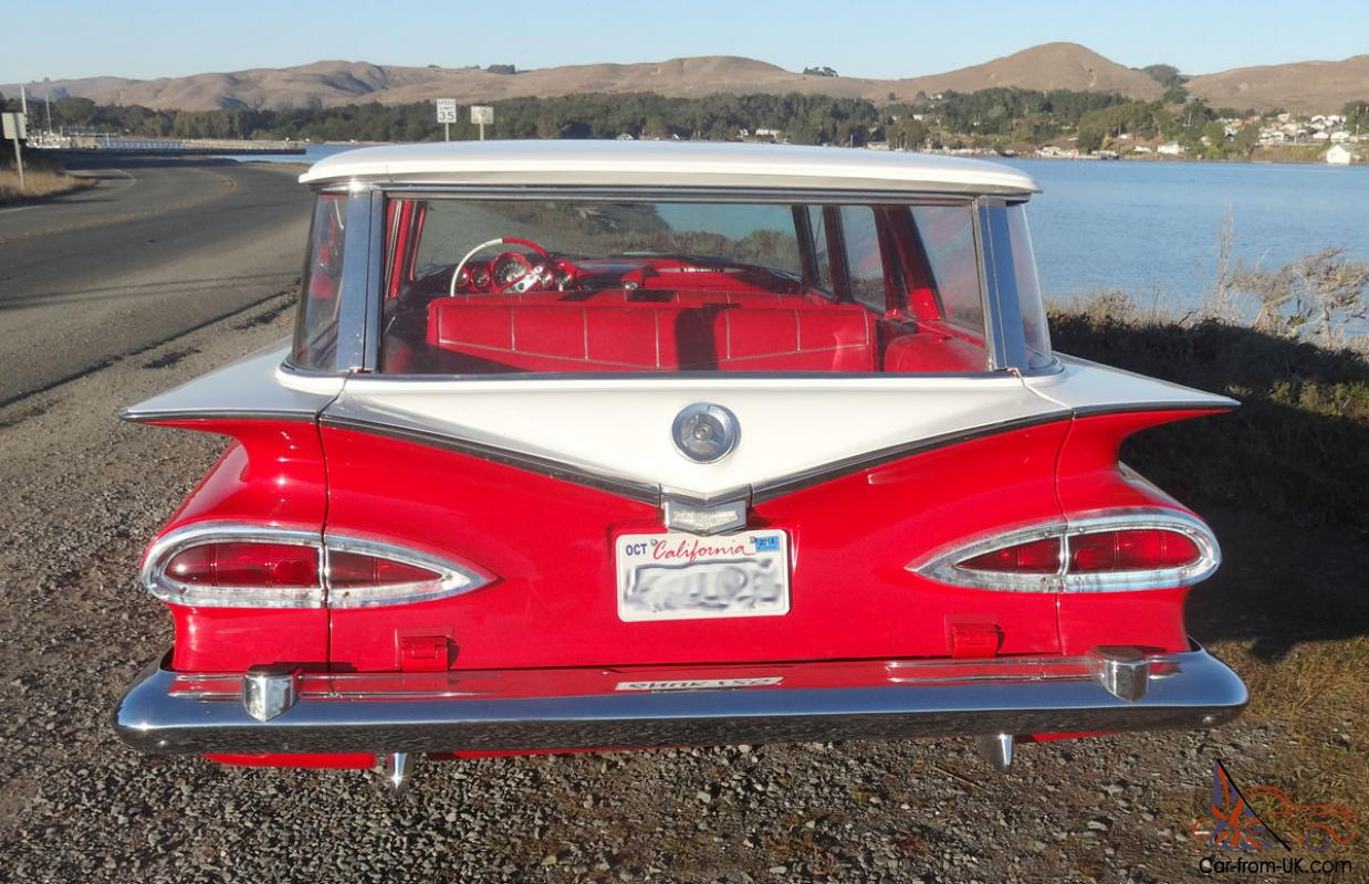 1959 Chevrolet Kingswood Station Wagon Chevy Brookwood Nomad Automatic