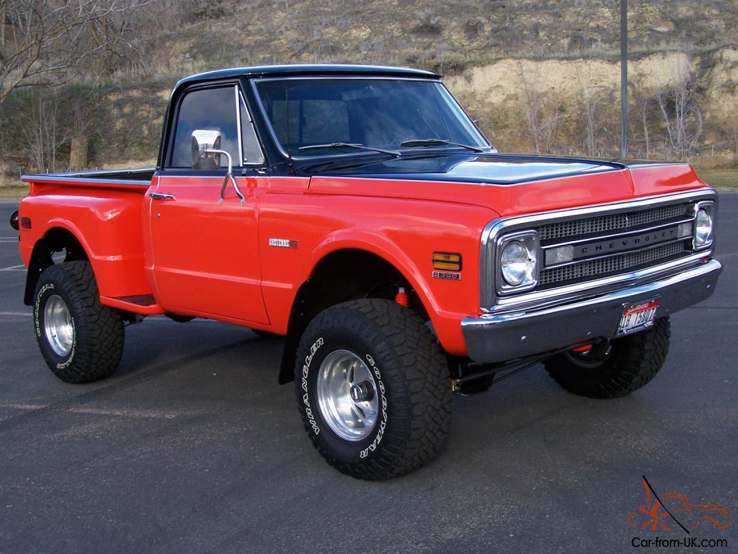 All Chevy 1969 chevy c10 for sale : Chevrolet C-10 / K-10 4X4 Stepside Shortbox