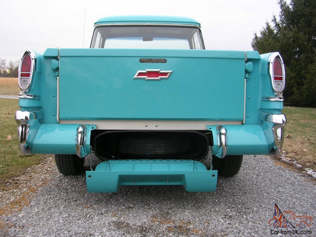 Truck 1957 chevy truck parts : CHEVROLET CAMEO CARRIER 3124 HALFTON PICKUP