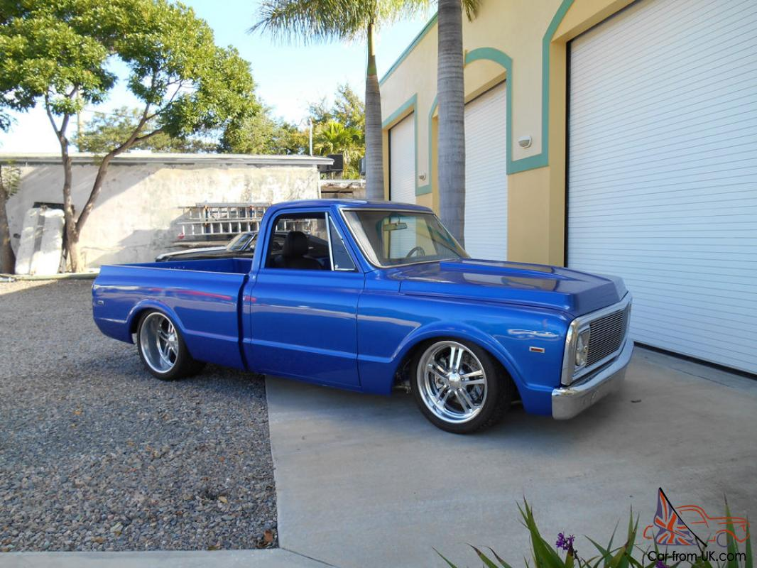 1969 Chevrolet C10 572 Truck Short Bed Pro Touring Air Ride Bagged Shop  Truck
