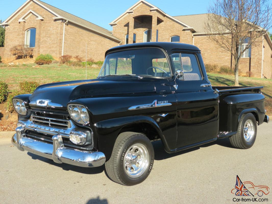 1958 Chevy Apache For Sale >> 1958 Chevrolet Apache Stepside Pickup