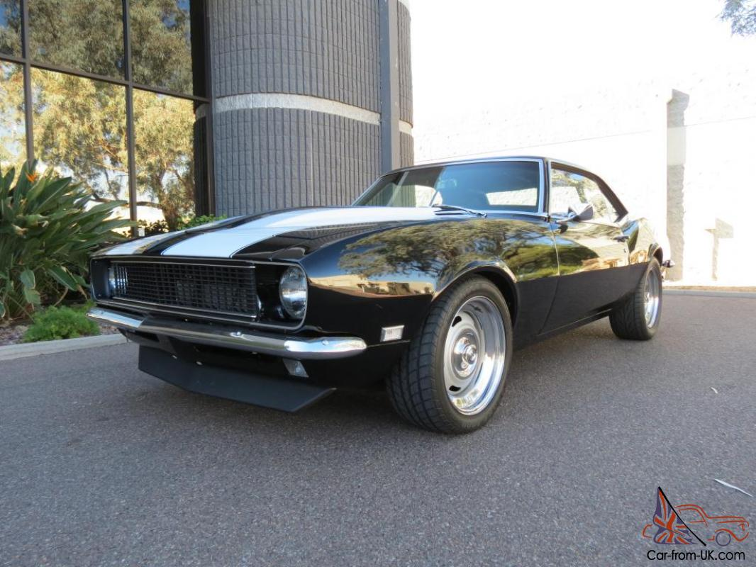 1968 Camaro Chevy Chevrolet Pro Touring Vortech Supercharger Muscle Car