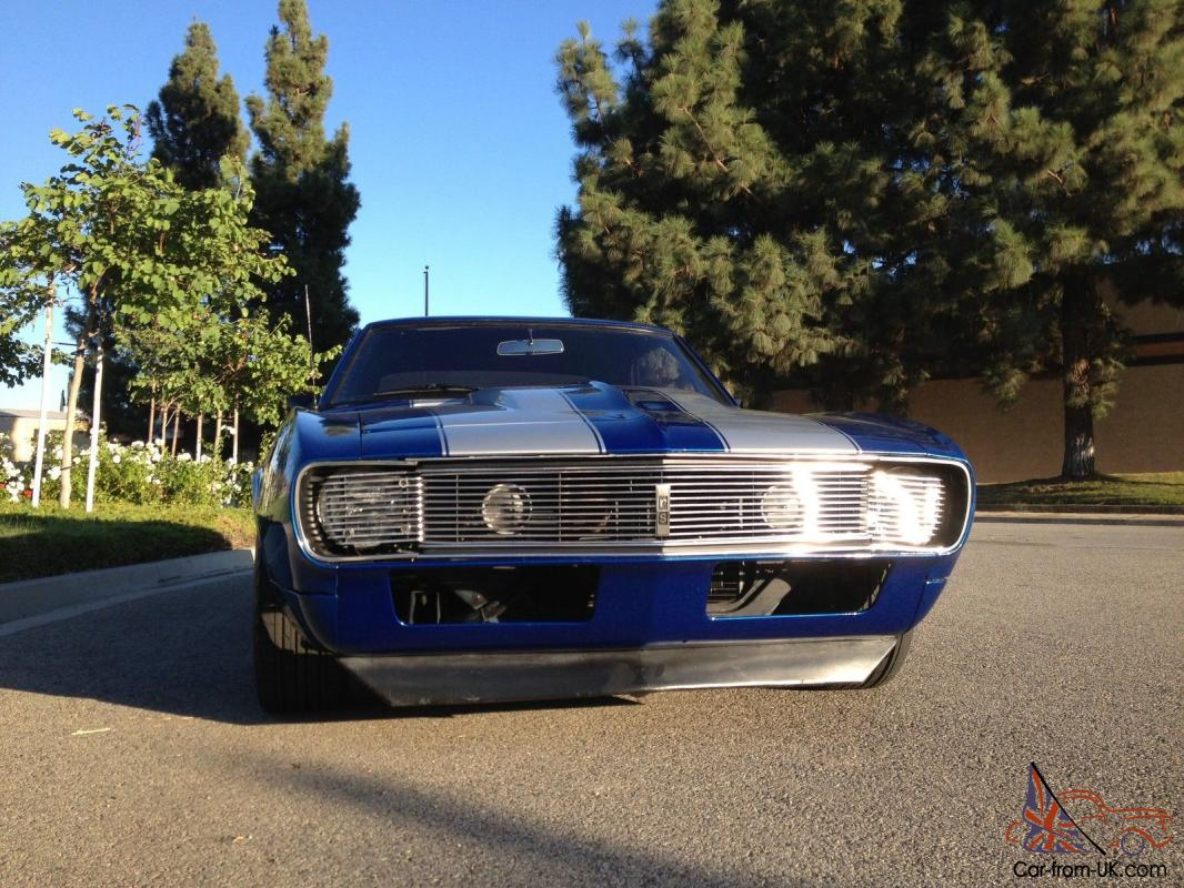 1967 CAMARO RS PRO TOURING LT1 FUEL INJECTED 4L60E EVER DRIVE TRANS