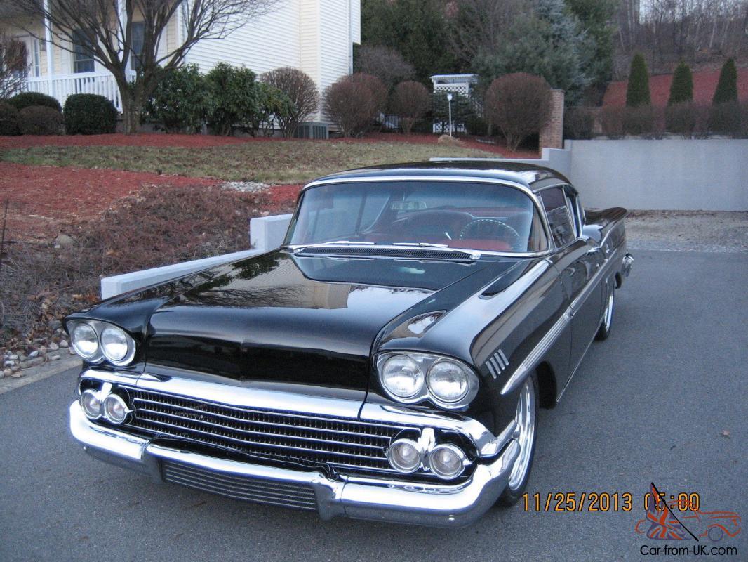 Impala 1958 chevrolet impala : CHEVROLET IMPALA PRO TOURING MULTI SHOW WINNER CALANDER CAR FLAWLESS