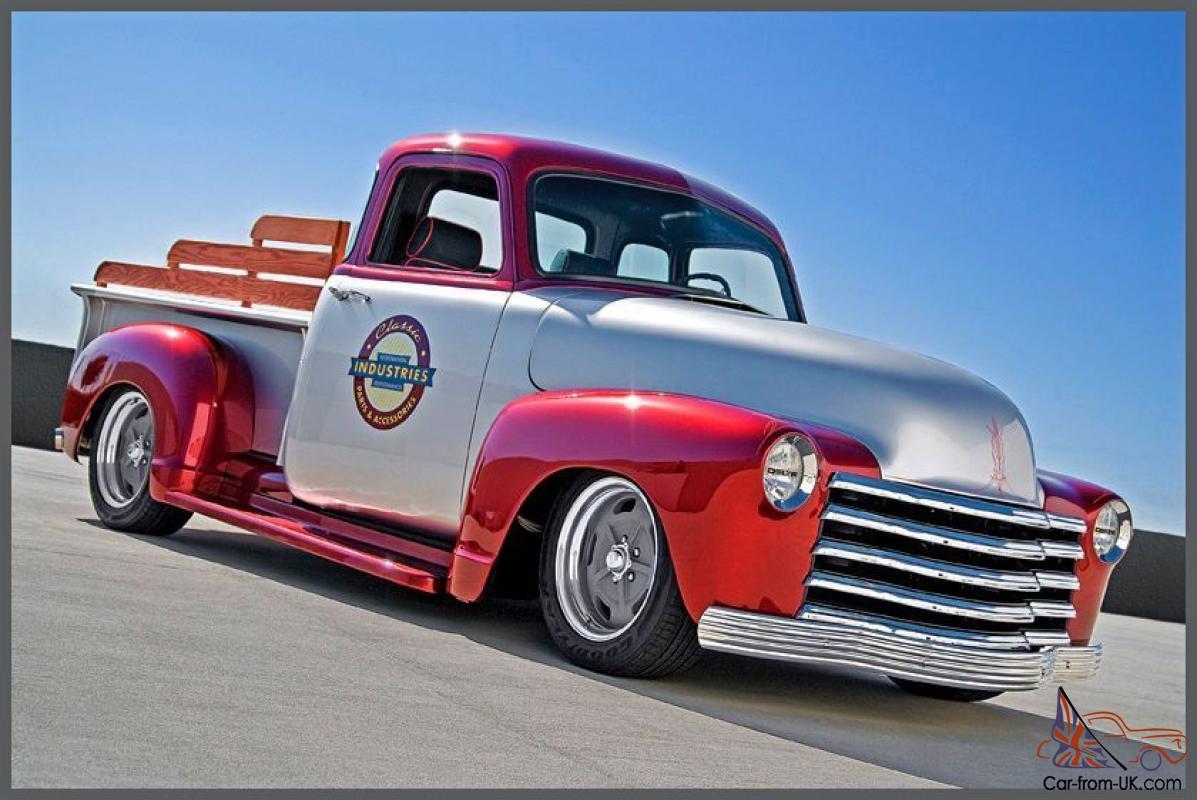 1950 Chevrolet Truck 3600 Standard Cab Pickup 2-Door 3.8L1950 Chevy Pickup Engine