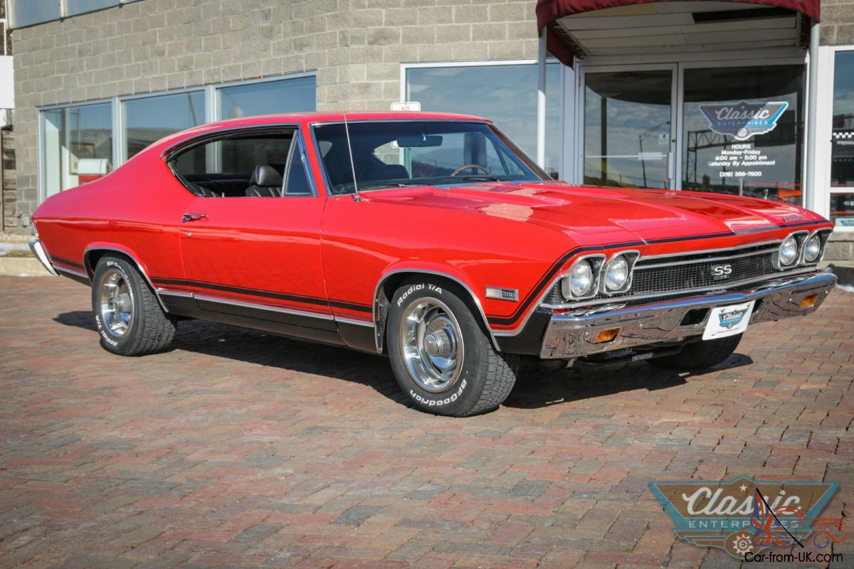 All Chevy 1968 chevrolet chevelle : Chevrolet Chevelle Malibu SS 396 Numbers Matching Big Block code ...