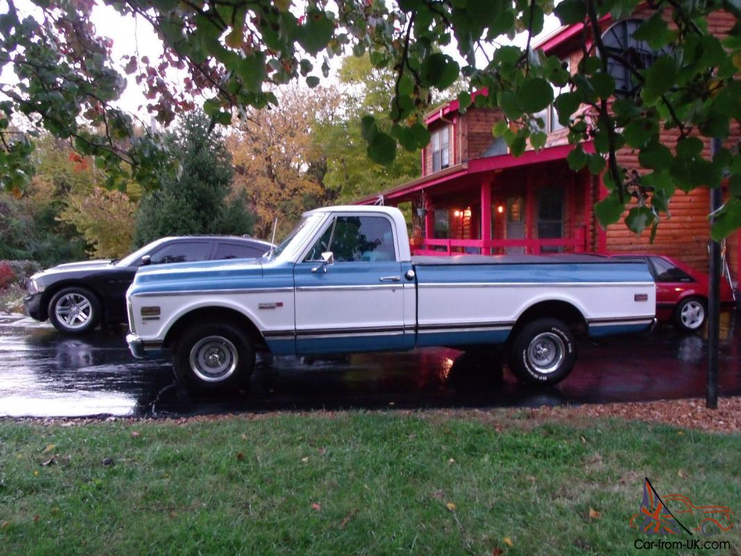 All Chevy chevy cheyenne c10 : Chevy Cheyenne Super C10 unmolested, time capsule 1/2 ton long bed ...