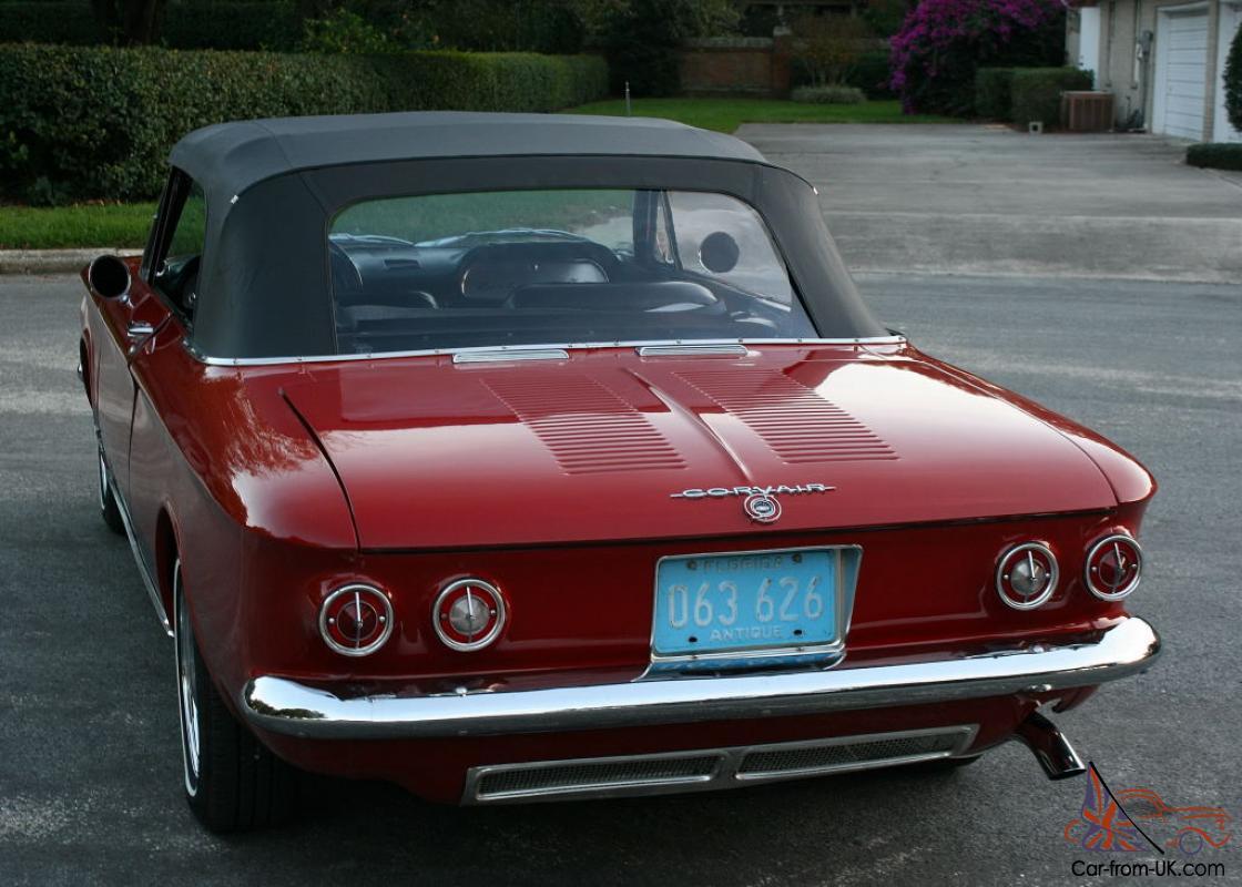 FAMOUS TURBO SPYDER RESTORED - 1963 Chevrolet Corvair ...