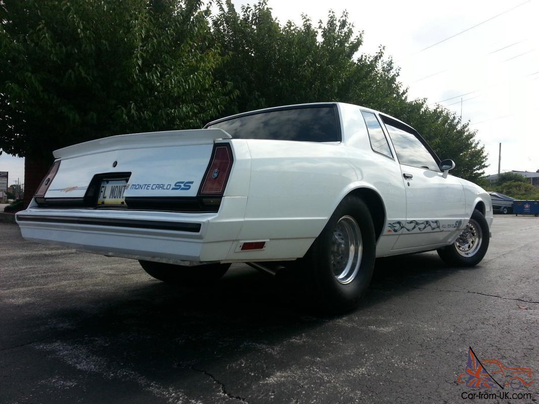 1984 Chevy Monte Carlo Ss Pro Street 502 Big Block 350