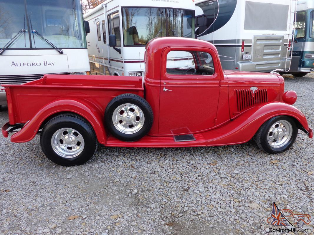 Ford Pickup Street Rod A/C and Heat 350 Chevy NICE!!! Only 2700 miles