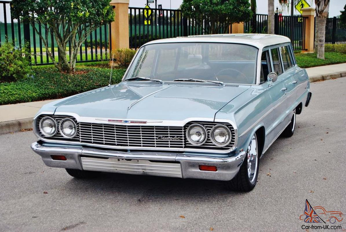 All Chevy chevy bel air 1964 : rare and beautiful 64 Chevrolet Bel Air Wagon selling at no ...