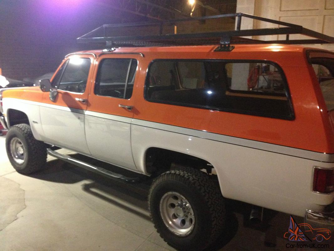 Lifted Suburban For Sale >> 1987 Chevrolet V20 4x4 3 4 Ton Custom Suburban 5 7l Throttle Body