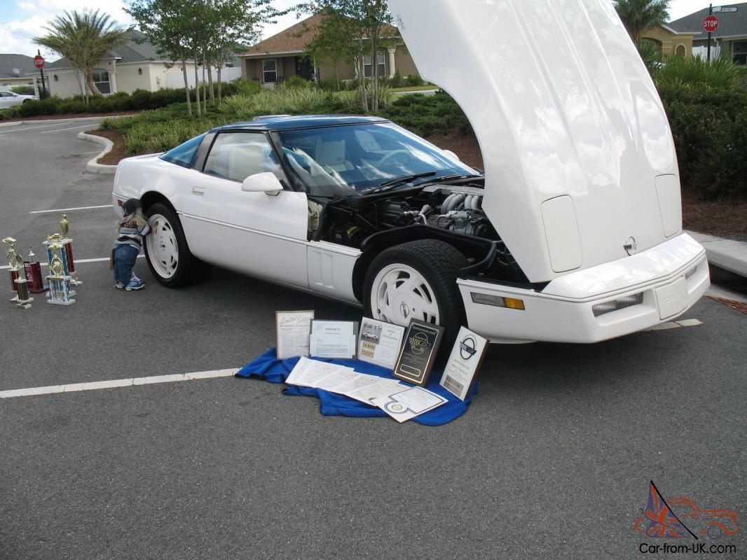 All Original 1988 Chevrolet Corvette 35th Anniversary RPO Z01 Coupe Show Car