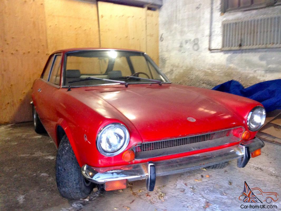 1969 Fiat 124 Sport Coupe 1 4l Rare Buano Design Ac Coupe Good Complete Project
