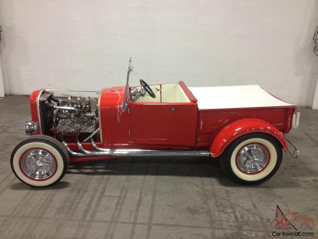 1927 Hot Rod Ford Model T Roadster Pickup Truck Custom Pinstripe Flathead Wow