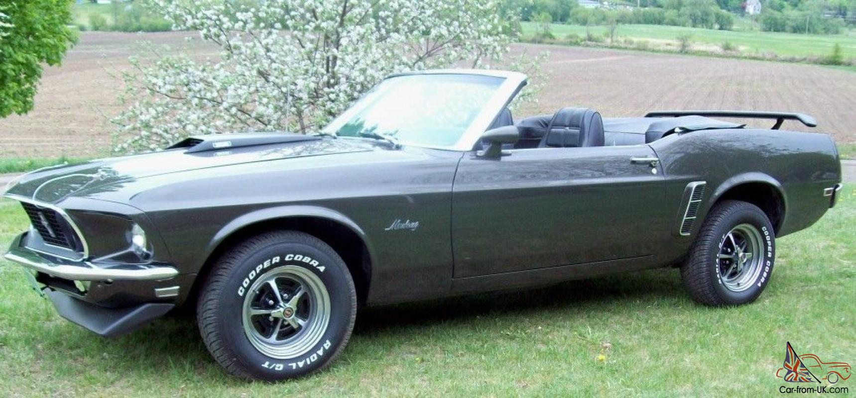1969 ford mustang convertible v8 4spd