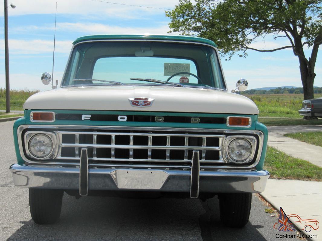 1965 F100 Original Paint Survivor Pick Up with 48K miles!!!