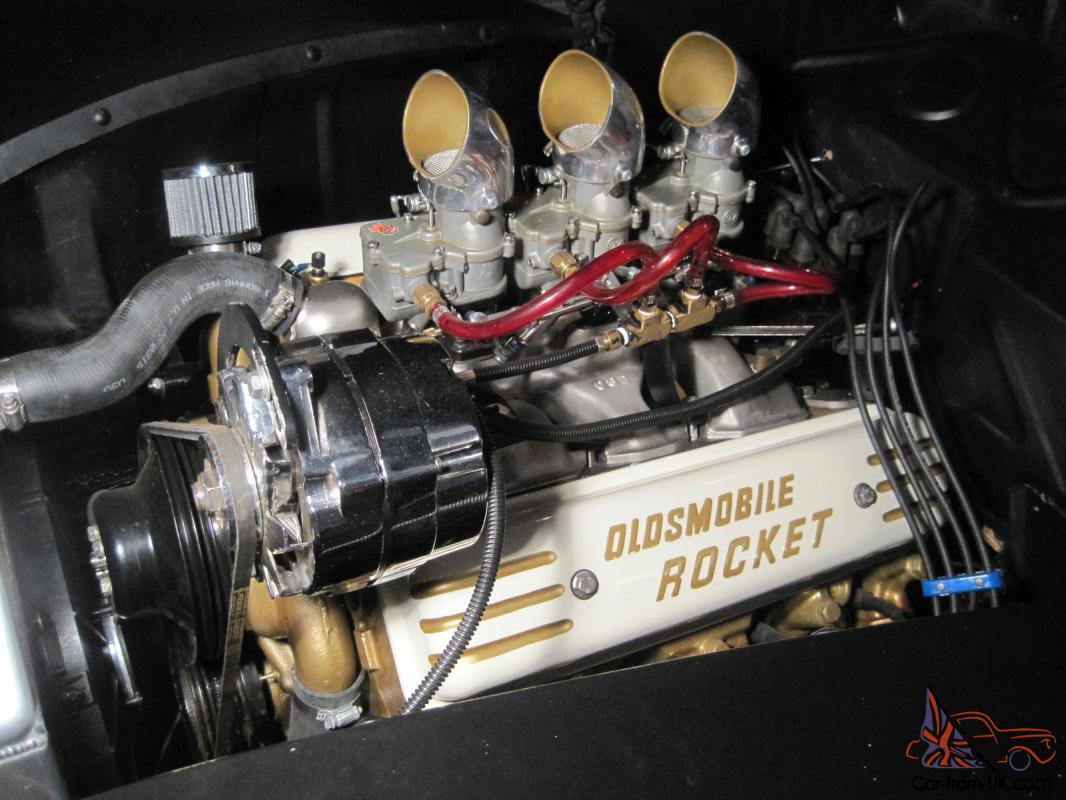 1940 Ford Coupe Olds Engine Rear