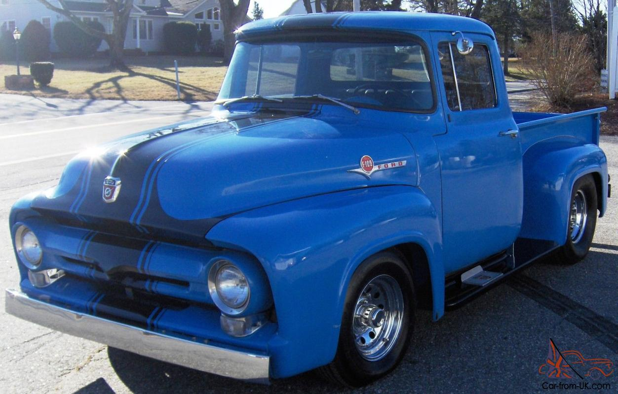 1956 Ford F100 Short Bed Free Shipping New England Lowered Reserve Price 1964