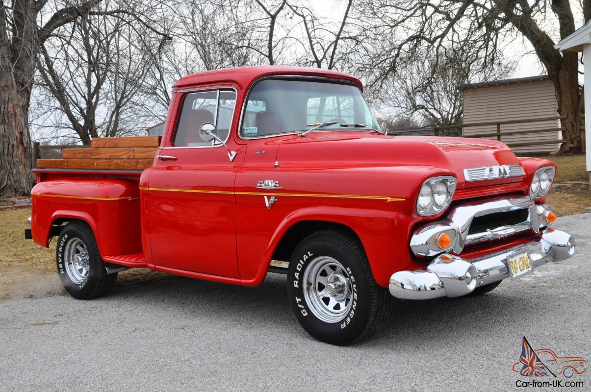 1959 Gmc Shortbed Stepside Truck