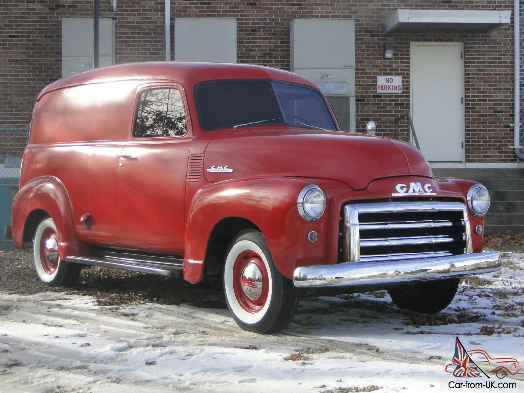 Truck 1948 chevy panel truck : GMC 1/2 ton Panel Truck *Original Condition*