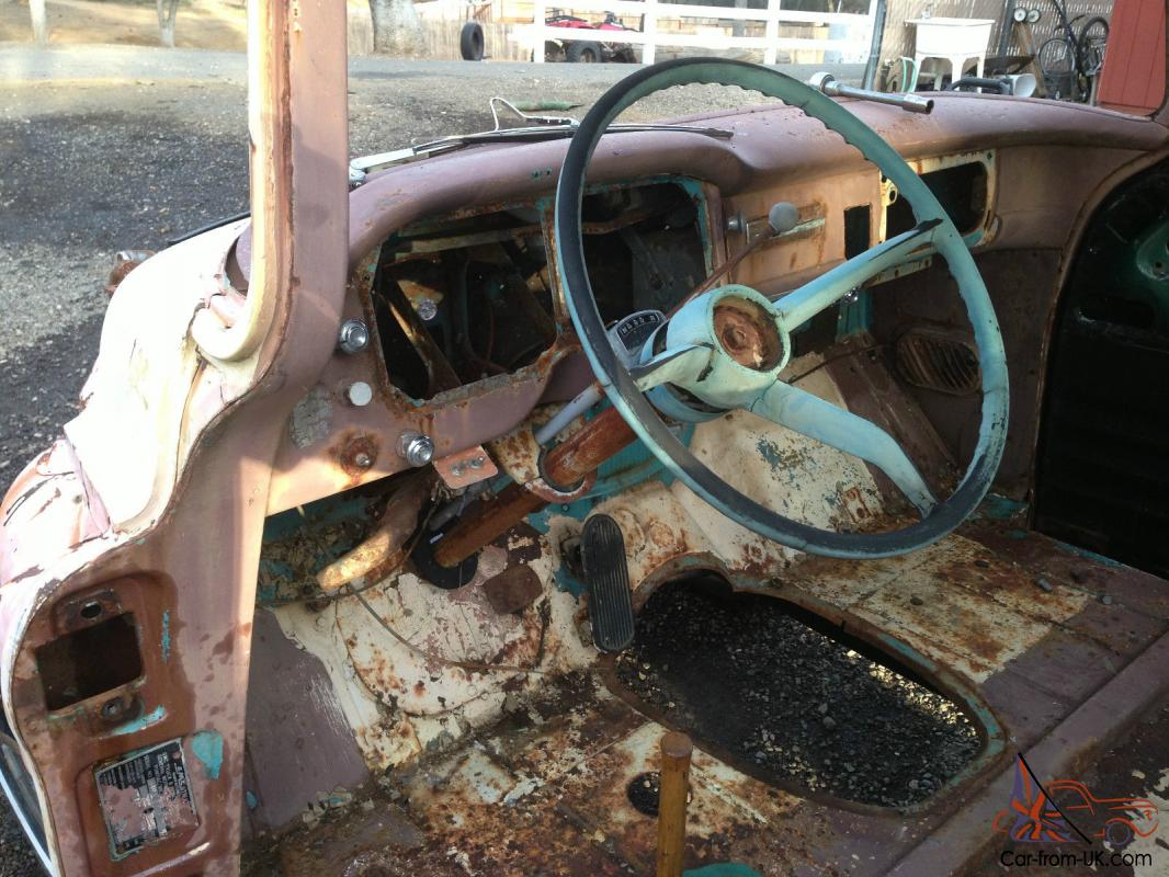 Truck 1957 chevy truck parts : Chevy Custom Cab Short Bed Step Side Truck GMC extra Cabs & parts